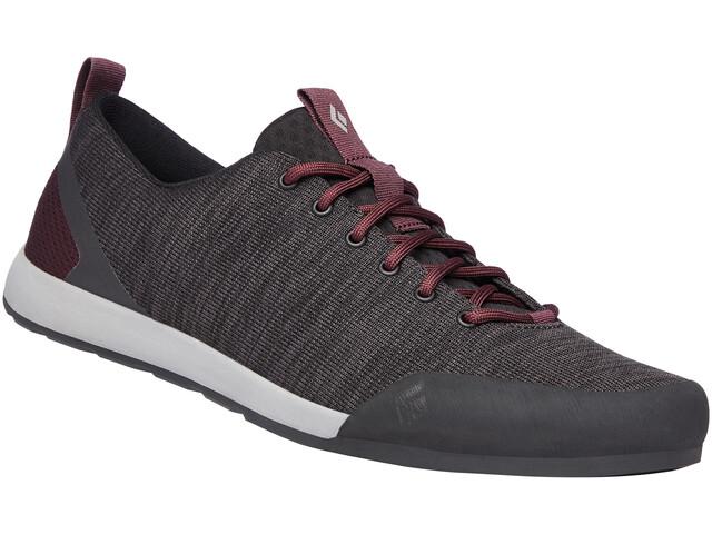 Black Diamond Circuit Shoes Women anthracite-bordeaux
